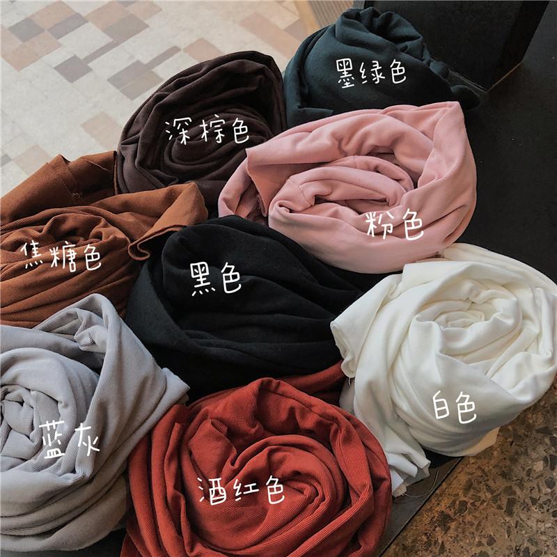 實拍實價 控價5 秋冬基礎款純色半高領加絨保暖打底衫 8色入