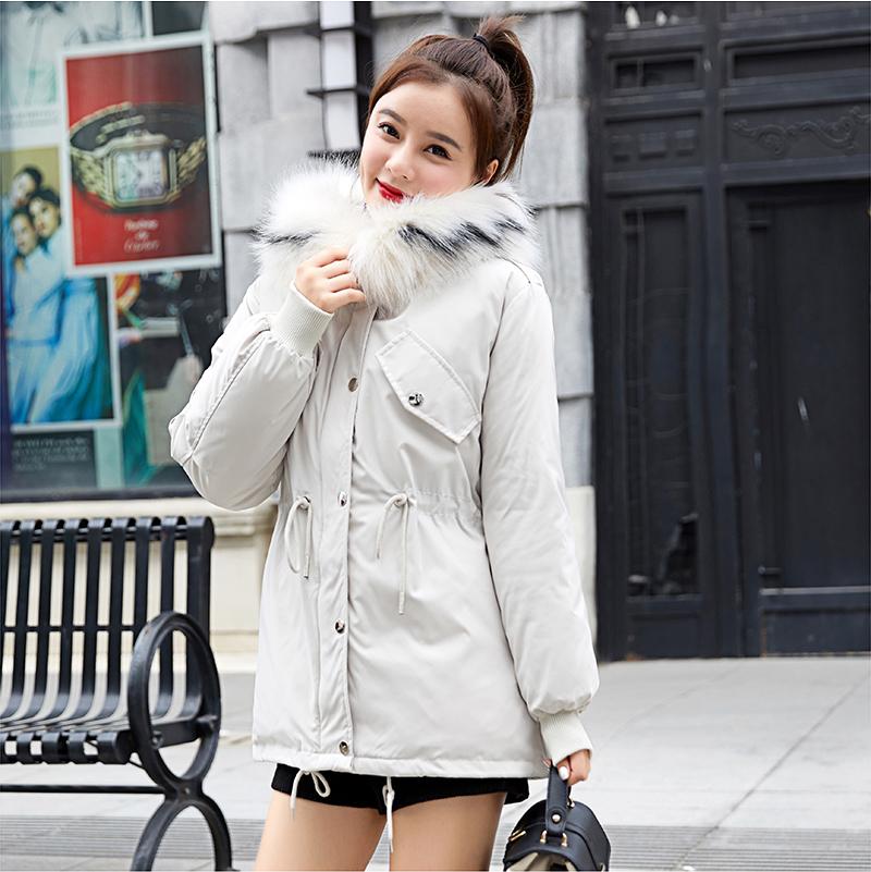 工裝短款女2019新款韓版學生羽絨棉服加厚棉衣面包服棉襖外套