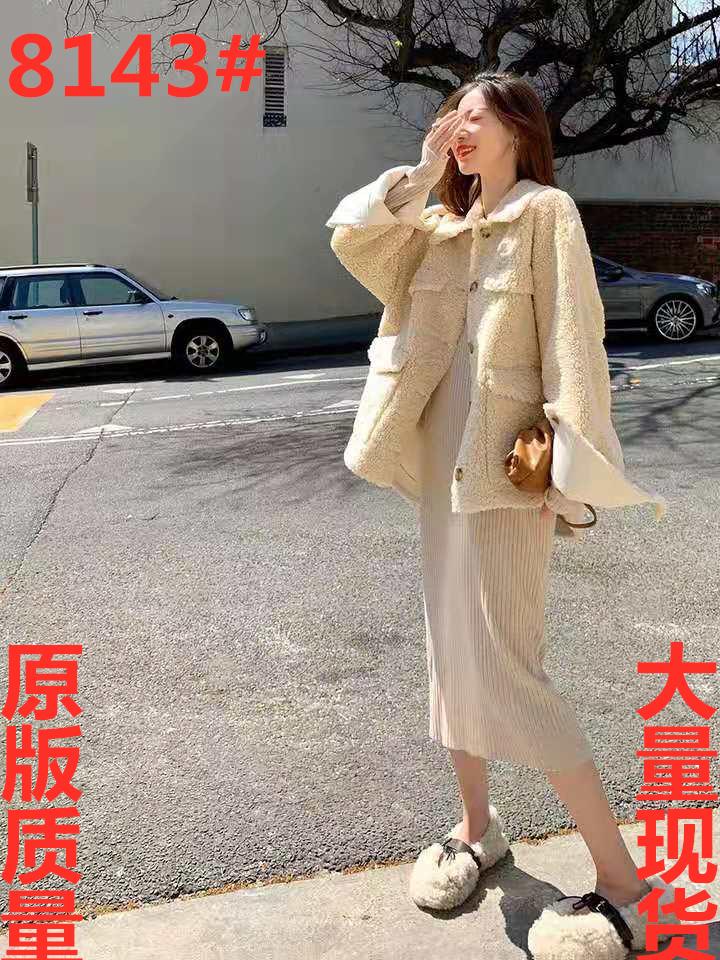 新品9折/抢先加购纯色宽松时尚短外套