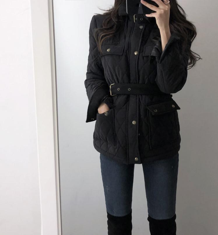 小個子百搭黑色ins小棉衣2019新款韓版潮流女冬短款夾克棉服外套