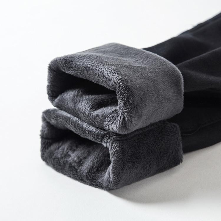 大碼女裝胖mm2019新款秋冬季牛仔褲胖妹妹加絨加厚修身顯瘦褲子