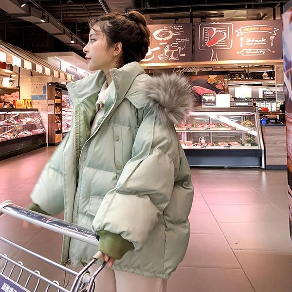 全網最低棉衣女短款韓版羽絨棉服寬松面包服東大門小棉襖外套