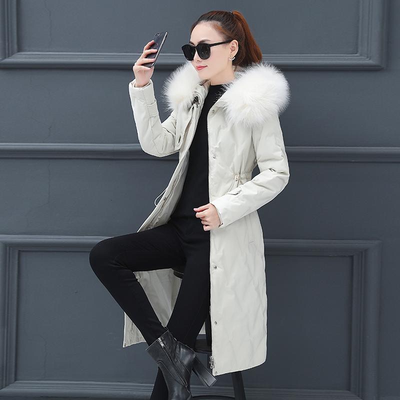200斤大码女装棉衣外套2019冬季新款收腰宽松韩版中长款棉服