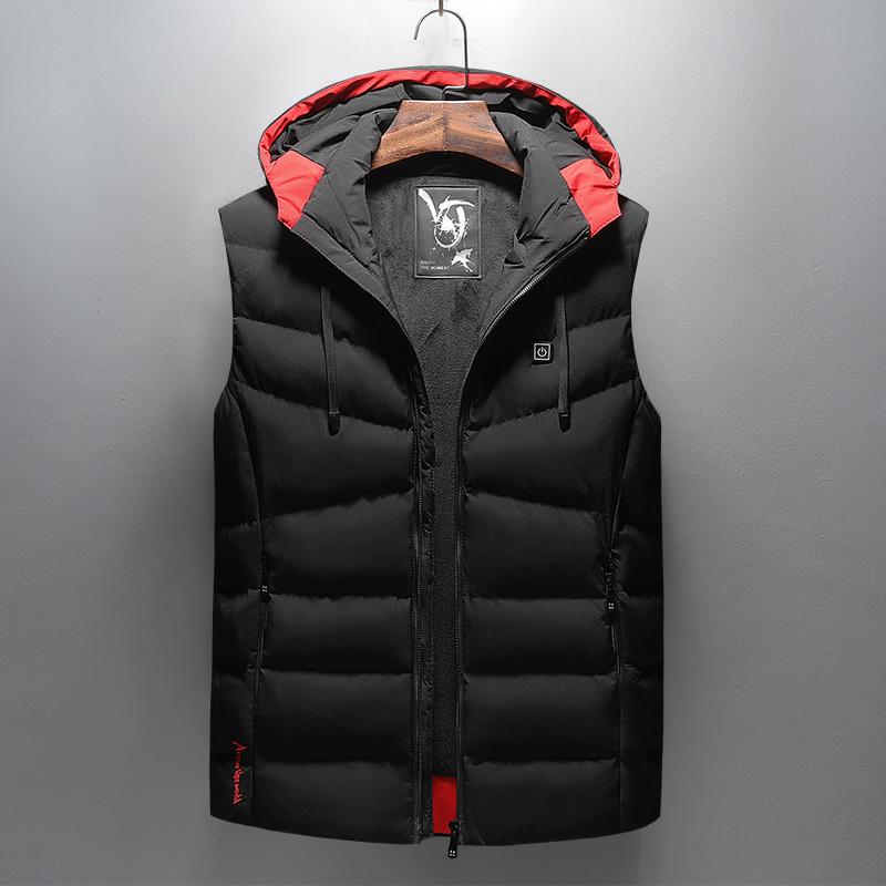 智能温控电热马甲加热背心充电发热男女冬季全身保暖衣服外套坎肩