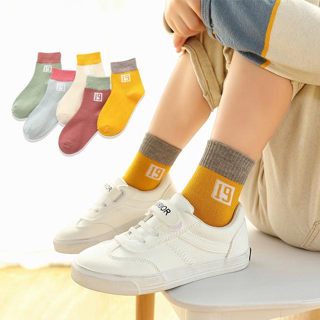 2019兒童襪子秋冬季新款中筒襪男童女童卡通童襪寶寶襪子