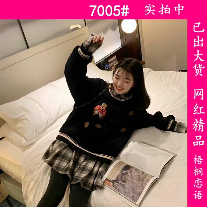 11月18日 10:00上新/新品9.5折/抢先加购 假两件卫衣裙