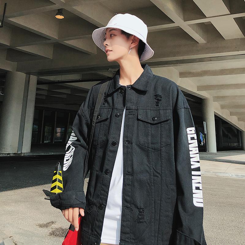 秋冬季时尚新款男秋装长袖衬衫外套休闲男装韩版潮流青年纯色夹克