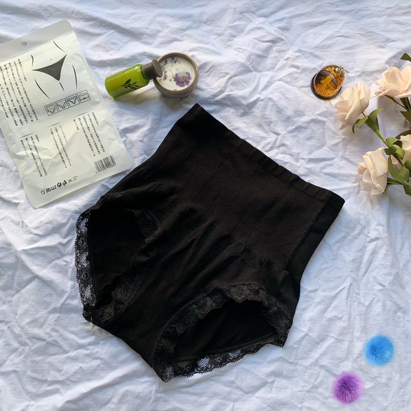 实拍实价 收腹裤头女高腰收胃翘臀裤塑形纯棉紧身提臀无痕内裤