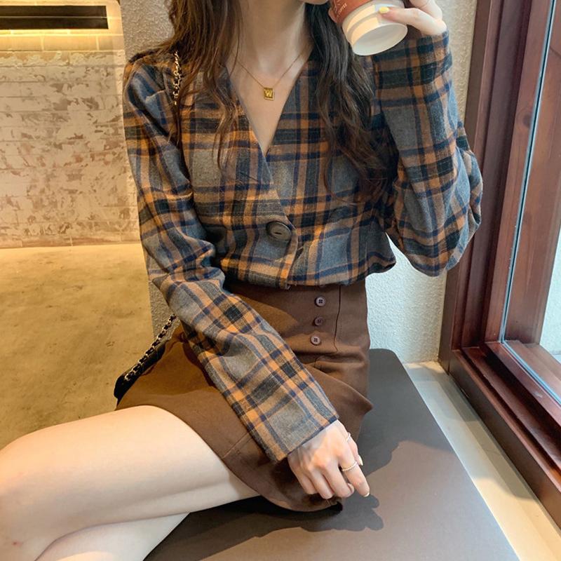 春裝2020新款輕熟風氣質洋氣顯瘦女神范套裝裙子泫雅時尚兩件套潮