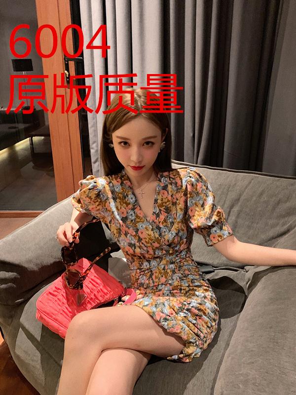 法式油画裙钱夫人家雪梨定制豆蔻年华温婉恬静碎花连衣裙系列