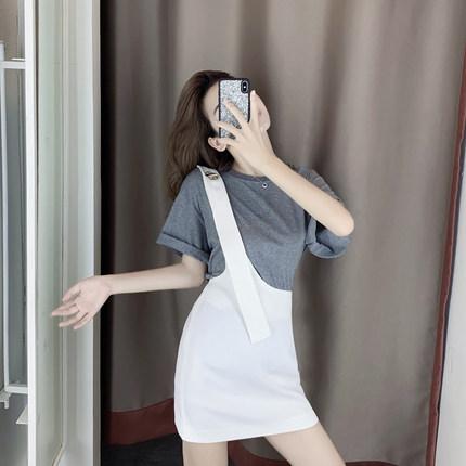 2020春裝新款洋氣減齡少女風輕熟御姐職業名媛小香風裙子兩件套裝