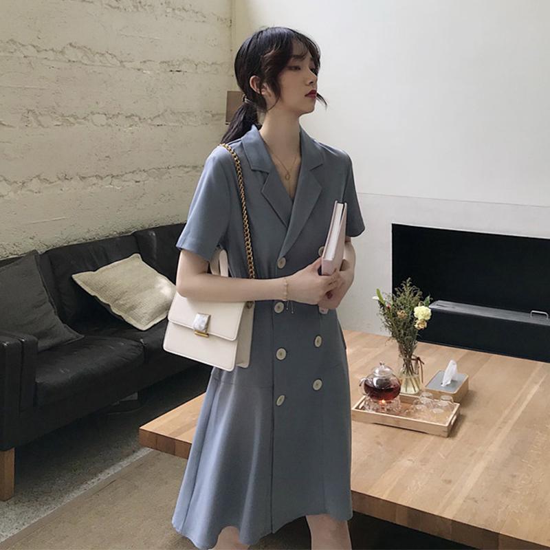 大码显瘦女装夏装2020新款胖mm法式连衣裙子春秋夏装洋气减龄轻熟