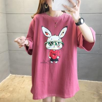 实拍2021新款长袖内搭上衣韩版宽松洋气学院风圆领T恤