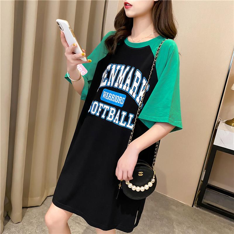 實拍好質量韓版棉質寬松短袖t恤女網紅同款大碼女裝