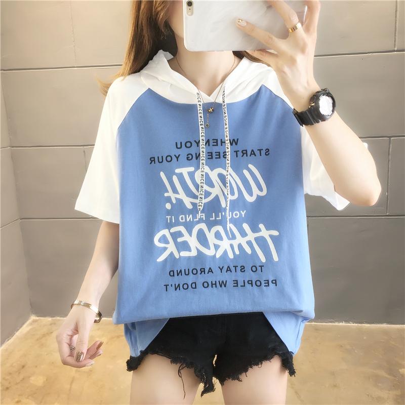 實拍100%純棉好質量不下架韓版棉質寬松短袖休閑t恤女網紅同款