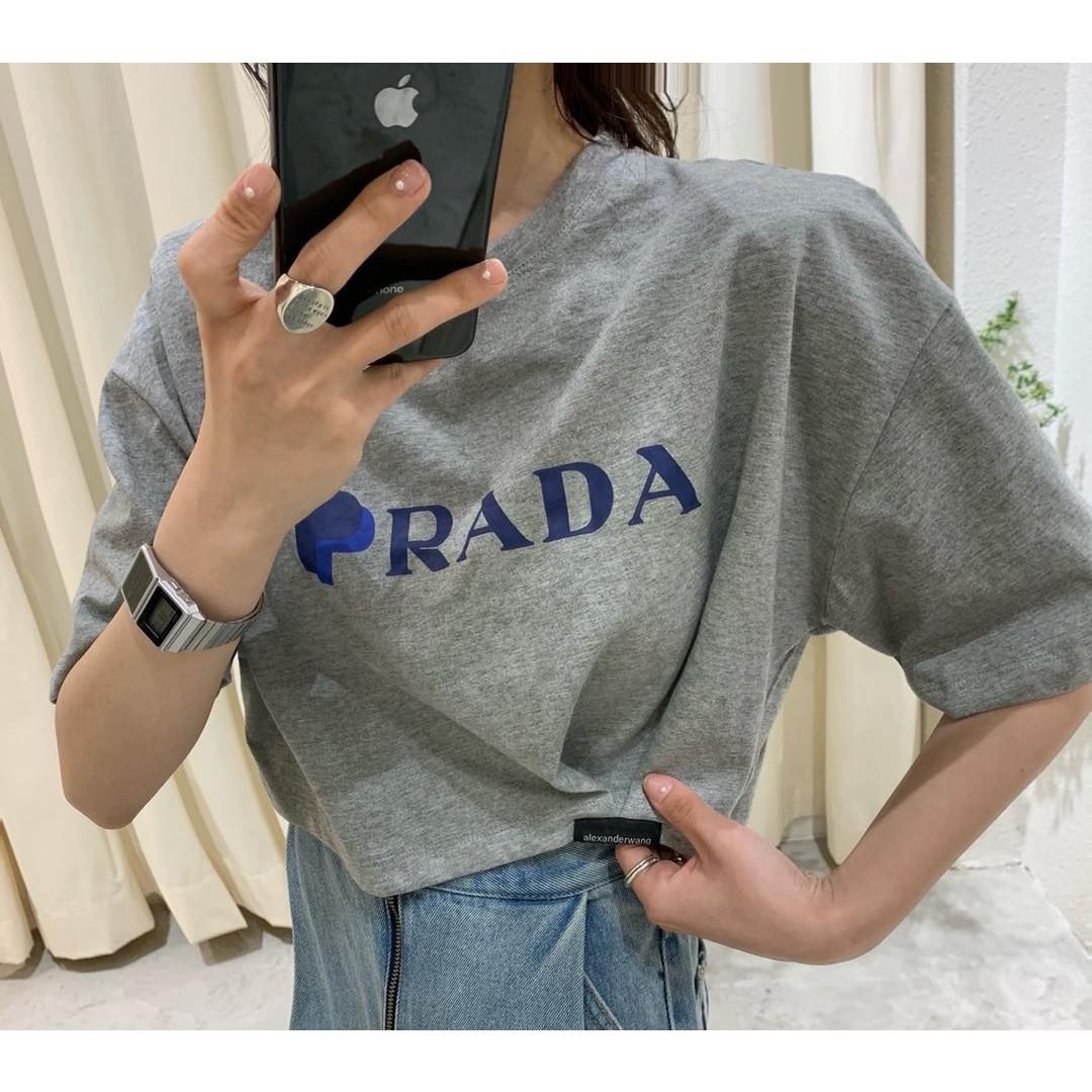 夏季新款韓版短袖字母印花寬松個性短款上衣女T恤潮