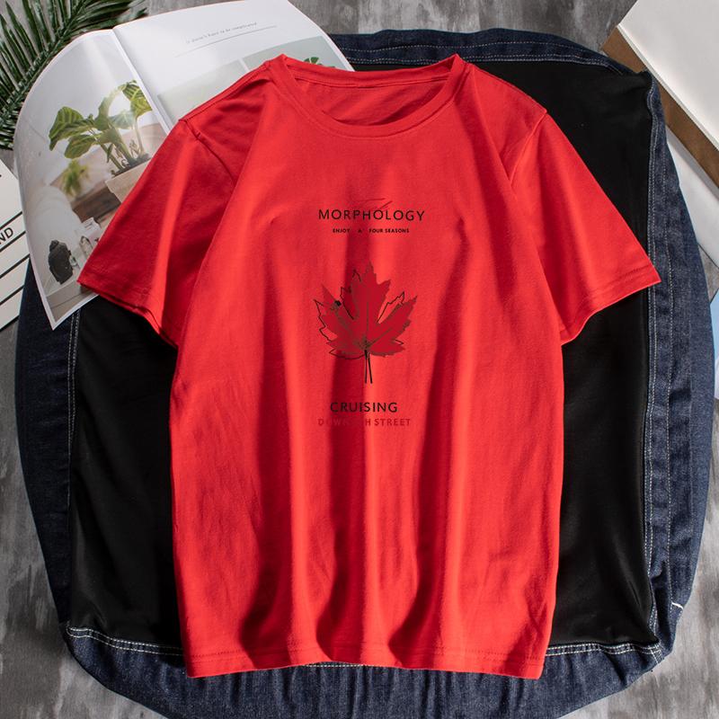 夏季圓領短袖男士t恤夏裝純棉時尚印花體桖2020時尚青年男裝潮流