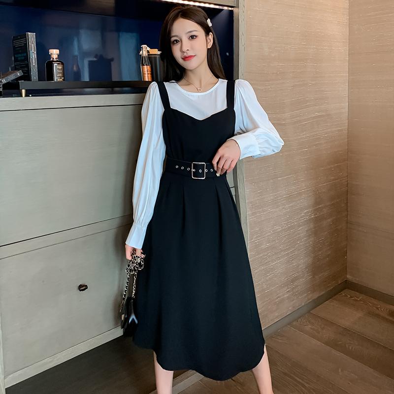 석선물 예쁜옷 추석선물  쉬폰 상의 스트링 슬림핏  나시 원피스 투피스  우유쉬폰 원피스