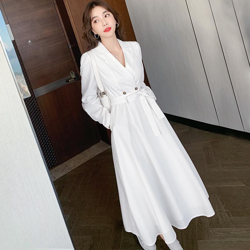 추석선물 예쁜옷 추석선물  정장 스트링 슬림핏  롱 프레쉬 여성 원피스  라임롱 원피스
