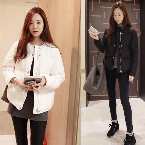 KTY12804#欧洲站2020冬季新款女装外套棉衣韩版时尚短款修身加厚羽...