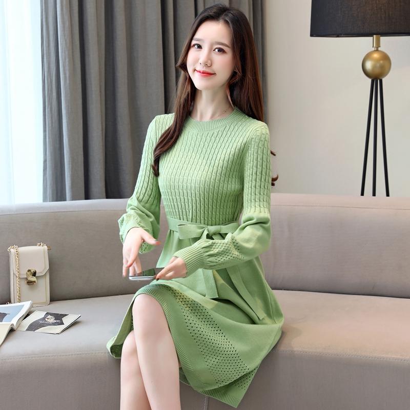 피스 여성 겨울 예쁜옷 추석선물  박시핏 클래식 셔츠 세트 스웨터  레드로지스겨울 원피스