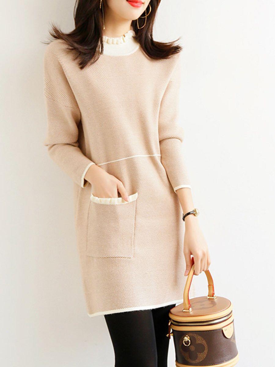 秋裝2020新款女裝秋季減齡顯瘦連衣裙秋款氣質高端小個子裙子女年
