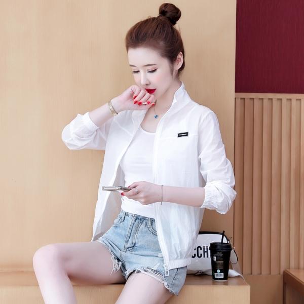 RS11#短外套百搭夏款显瘦 时尚立领糖果色防晒衣女 学生棒球服