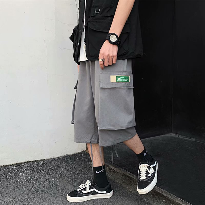 2021短裤子男士潮...