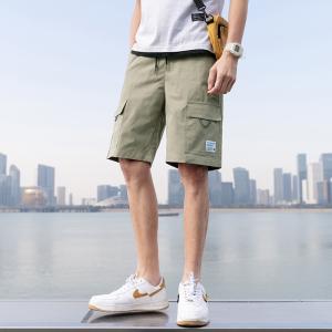 KY7465#休闲短裤男潮牌ins男士短裤外穿夏季五分裤宽松中裤