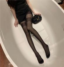实价实拍性感丝袜蕾丝花边点点连裤袜百搭时尚长筒袜