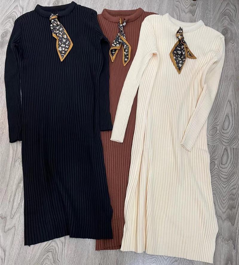 名媛小香風時髦V領女人味千鳥格針織衫直筒顯瘦闊腿褲兩件套裝冬