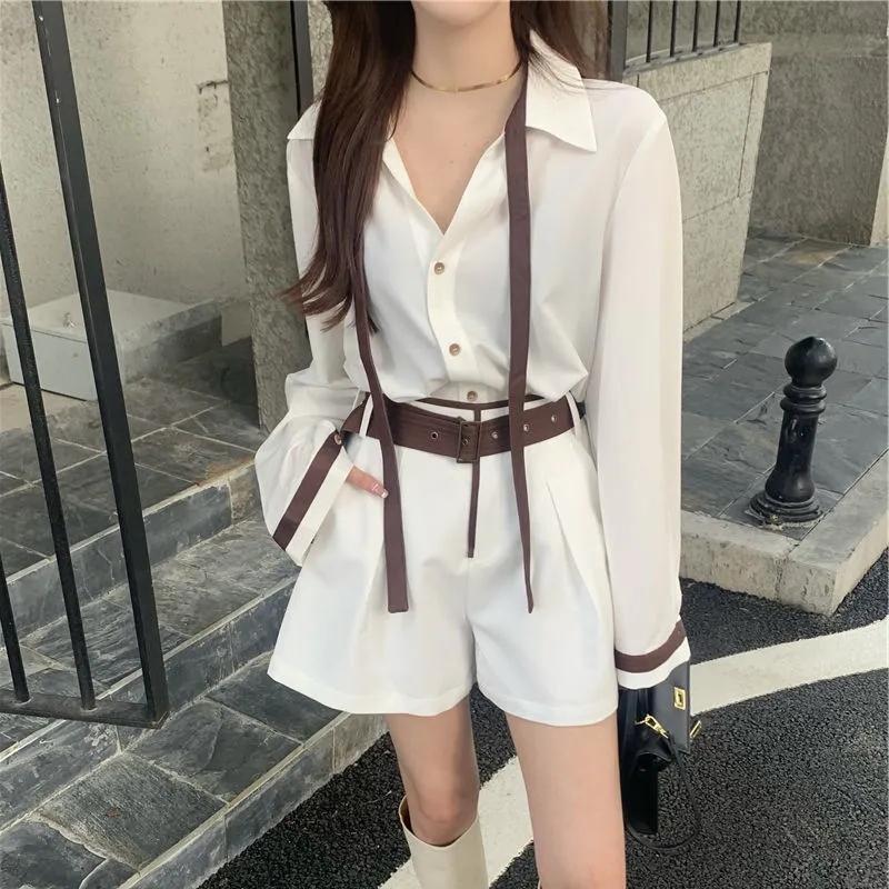 pu皮衣短款外套女設計感小眾復古寬松西裝領夾克2021秋季新款上衣