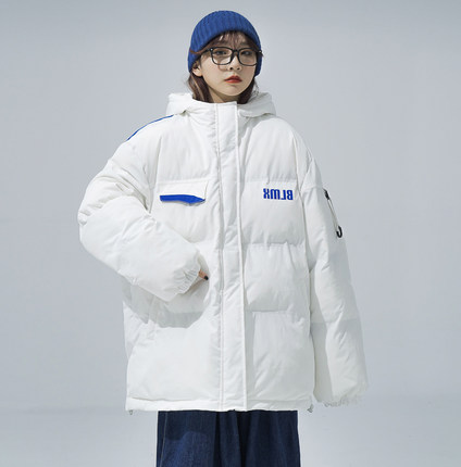 棉衣棉服女2021新款冬季加厚外套韩版宽松气质时尚oversize面包服