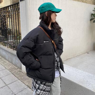 棉衣女2021年新款冬棉服設計感小眾爆款oversize棉襖外套潮